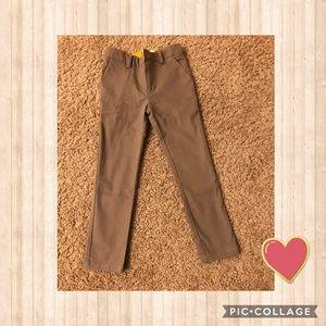 NWOT Motoreta Gray/Brown Long Pants Size 2/3